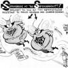 Superbugs at the Supermarket, an OtherWords cartoon by Khalil Bendib