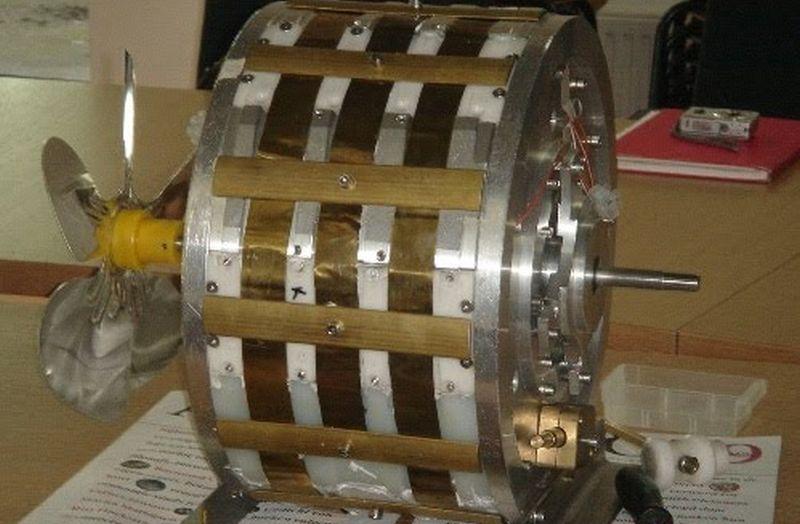 Магнитная двигатель своими руками