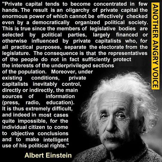 einstein essay on socialism Here's some important things to think about: first, socialism is defined as worker or public control of the means of production and distribution.