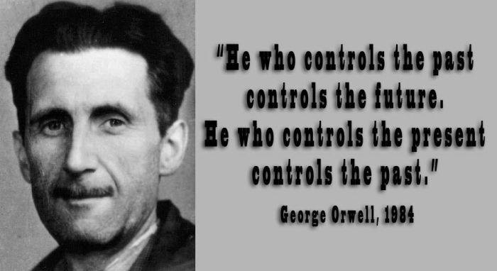 george orwells prediction of the future of society Amusing ourselves to death: huxley vs orwell 41k  do you see this as a  problem in your own world, or a problem you imagine for society in general.