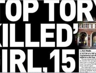 Top Tory Pedophile Murdered Girl in VIP Snuff Ritual