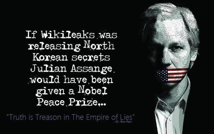 dr ron paul if wikileaks was releasing north kor